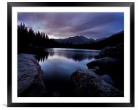 Before Sunrise, Framed Mounted Print