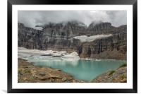 Grinnell and Salamander Glaciers, Soon Things of t, Framed Mounted Print