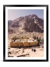 JST2099 St Catherines Monastery, Framed Mounted Print