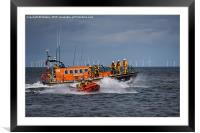 Rhyl Air Sea Rescue, Framed Mounted Print