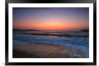 A New Day Begins., Framed Mounted Print