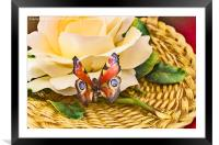 The Butterfly, Framed Mounted Print