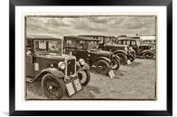 Old Classics, Framed Mounted Print