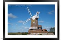 Cley Windmill, Framed Mounted Print