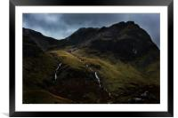 Hart Crag And Greenhow End, Framed Mounted Print