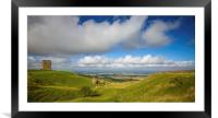 Bredon Hill Worcestershire, Framed Mounted Print