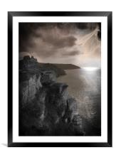 Spirits of Valley of The Rocks, Framed Mounted Print