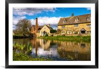 The Old Mill, Framed Mounted Print