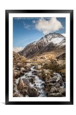 All Paths Lead to Tryfan, Framed Mounted Print