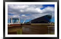 Tidal Barrier and the Deep, Framed Mounted Print