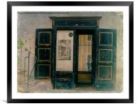 The Doorway to Memories, Framed Mounted Print