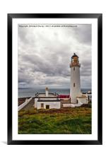 Mull of Galloway Lighthouse 2, Framed Mounted Print