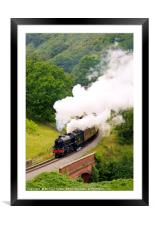 Yorkshire Coast Express, Framed Mounted Print