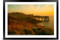 Silex Bay, Flamborough Head, Framed Mounted Print