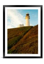 Flamborough Head Lighthouse, , Framed Mounted Print