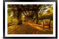 Peace and Quiet., Framed Mounted Print