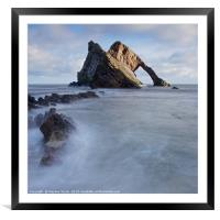 Bow Fiddle Rock, Framed Mounted Print