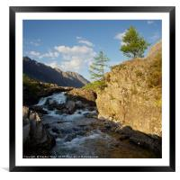 The River Coe, Framed Mounted Print