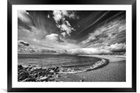 Chesil Cove, Framed Mounted Print
