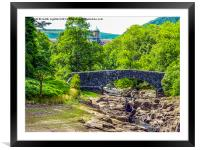 The Elan Valley, Wales, Framed Mounted Print