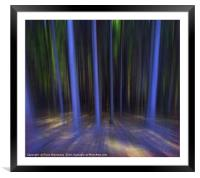 Moving Forest, Framed Mounted Print