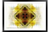 Dimensions Joint, Framed Mounted Print