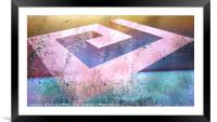 Outside Limits, Framed Mounted Print