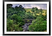"""""""Ribblesdale"""", Framed Mounted Print"""