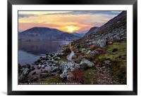 """Colourful Ennerdale"", Framed Mounted Print"