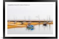 Wells-next-the-Sea Harbour, Framed Mounted Print