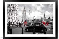 Iconic London, Framed Mounted Print