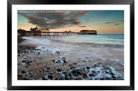 Cromer a Winters Dawn, Framed Mounted Print