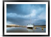 Approaching Storm, Framed Mounted Print