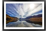 Big Sky At Crummock Water, Framed Mounted Print