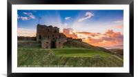 Tynemouth Priory Sunrise, Framed Mounted Print