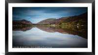 Grasmere Reflections, Framed Mounted Print