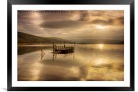 Autumn at Semer Water, Framed Mounted Print