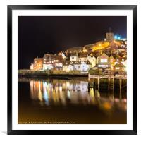 Abbey Wharf, Whitby, Framed Mounted Print