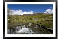 Views around Cwm Pennant, Framed Mounted Print