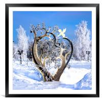 Some Hearts Are Diamonds..., Framed Mounted Print