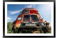 Double Decker Bus, Framed Mounted Print