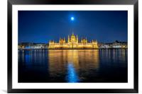 Parliament building, Framed Mounted Print