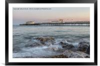 Worthing Pier, Framed Mounted Print