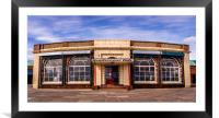 Rendezvous Cafe Beside the Sea , Framed Mounted Print