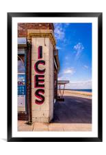 Anyone for Ice Cream ?, Framed Mounted Print