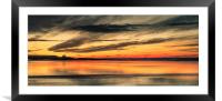 The Beauty of Bamburgh, Framed Mounted Print
