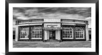 The Rendezvous Cafe in Mono, Framed Mounted Print