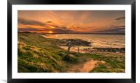 Path to the Sun, Framed Mounted Print