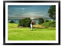 Anyone for golf, Framed Mounted Print