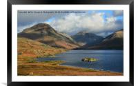 Wastwater Cumbria, Framed Mounted Print